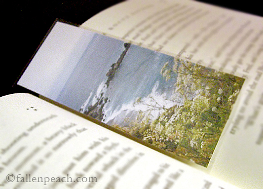 Pacific Coast Highway Drive Photo Laminated Bookmark by fallenpeach on etsy